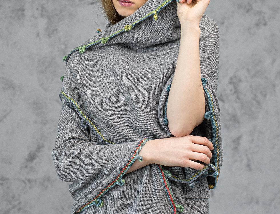 Oversize Cashmere Scarf Wrap