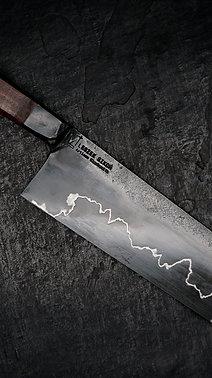 """""""Graphite"""" series Nakiri, Tasmanian Blackwood"""
