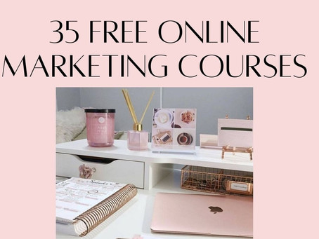 35 FREE Online Marketing Courses