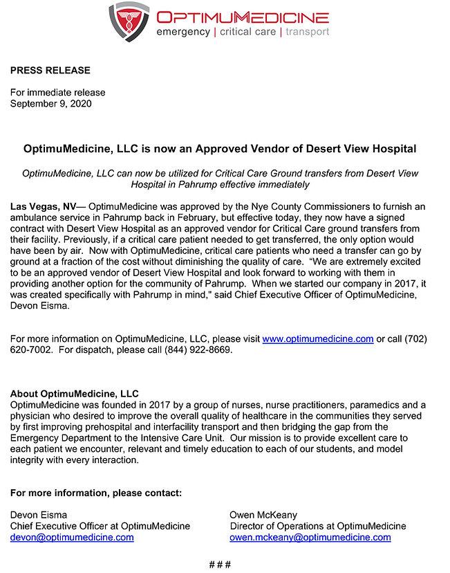 Press-Release-September2020-Desert-View.
