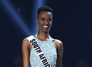 Miss Universe First to Win with Natural Hair