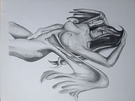 Desnudos a lápiz por Messon