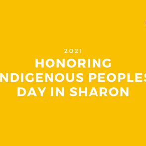 Honoring Indigenous Peoples Day in Sharon