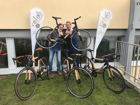 Bambus-Bike-Entwickler Daniel Rüegger und Reto Nobs von Drehmoment