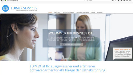 Kunde: Edimex AG, Treuhand, Buchhaltung