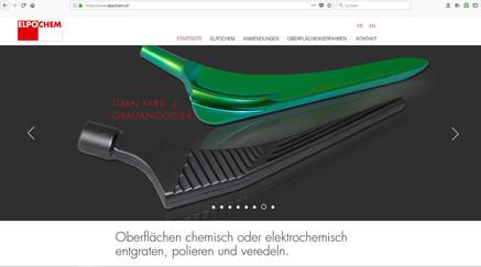 Kunde: ELPO CHEM AG, Verfahren zur Oberflächenveredelung