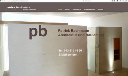 Kunde: Patrick Bachmann, Architektur und Bauleitung