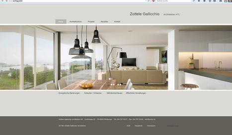 Zottele & Gallichhio Architekten, Richterswil