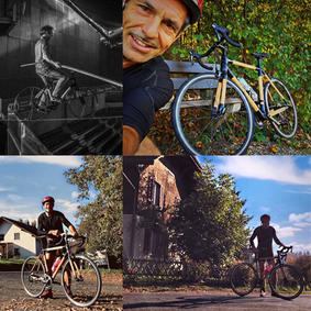 Bikes in Aktion mit Freddy Nock