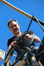 Vorbereitung mit Drehmoment Bike Freddy Nock