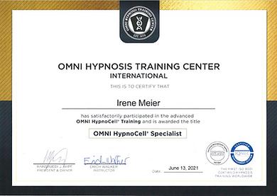 Irene Meier Hypnose Training Certificate Juni 2021.png