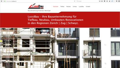 Kunde: Lussi Bau GmbH
