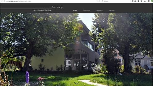 Kunde: Chaschper Gachnang, Architekt