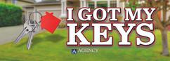 Agency Title_Sign 3_I Got My Keys_8in x