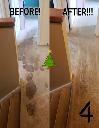 Merry Christmas Before and After