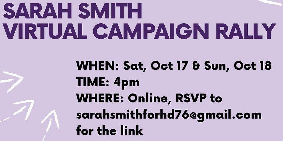 Virtual Campaign Rally