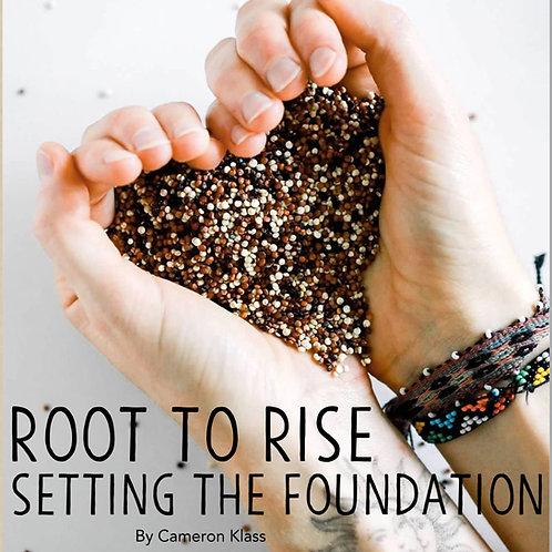 Setting The Foundation, Holistic Health Book