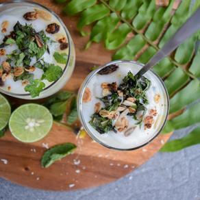 Keylime Coconut Yogurt Parfait