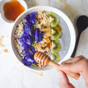 Blissful Blue Smoothie Bowl