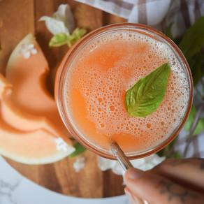 Melon 'Mocha' Juice