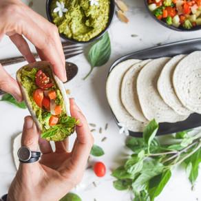 Avocado Pesto Buckwheat Tortillas