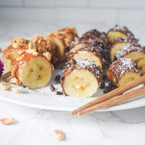 Peanut Butter Banana Sushi