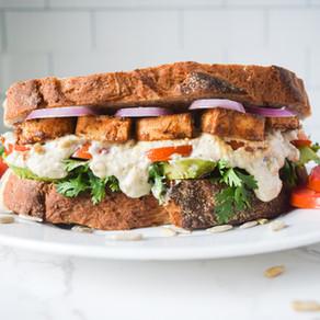 'Bacon', Avocado, Tomato Sandwich