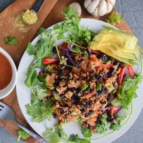 Tofu Taco Salad