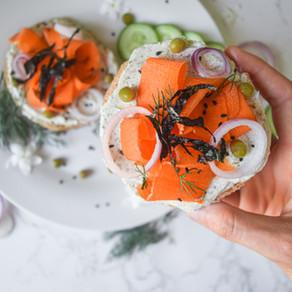 Vegan 'Salmon' Toast