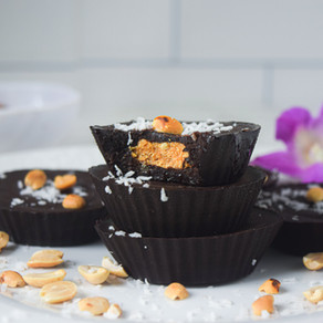 Healthy Peanut Butter 'Reese's Cups'