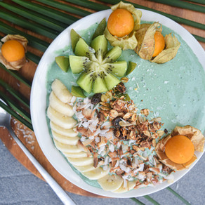Green Maca Smoothie Bowl