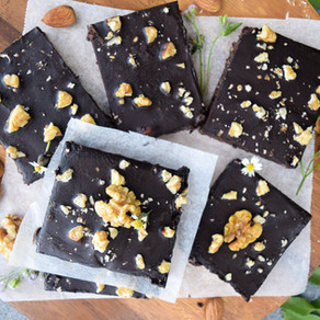 Raw Fudgey Brownies