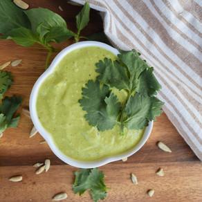 Avocado & Herb Salad Dressing