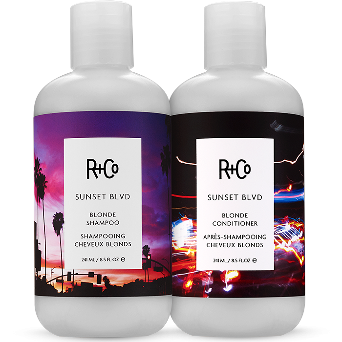 R+Co Sunset Blvd Shampoo & Conditioner