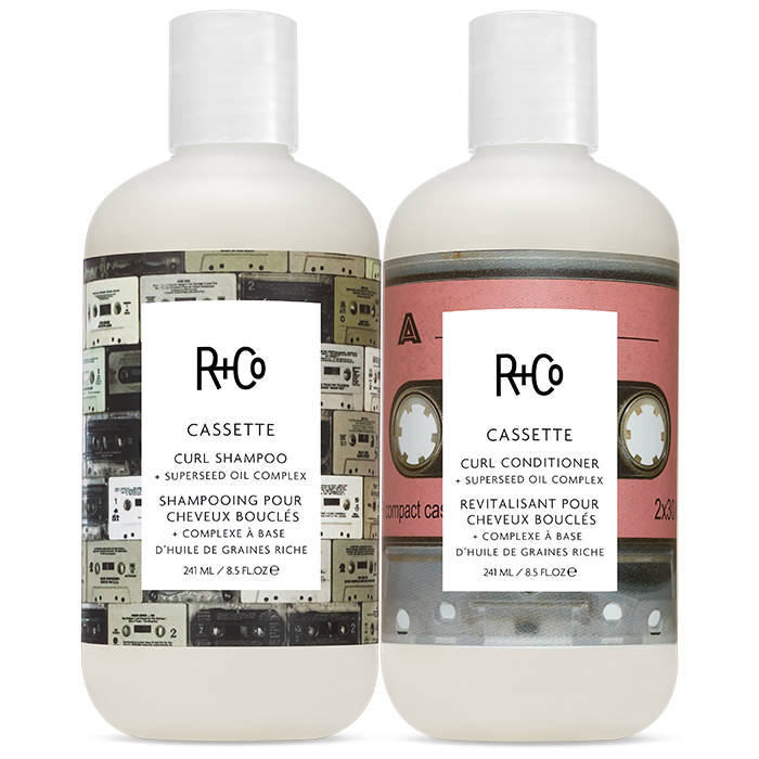 R+Co Cassette Shampoo & Conditioner