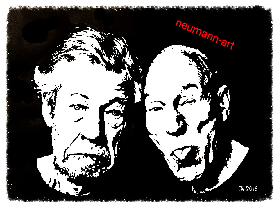 Sir Ian McKellen & Sir Patrick Stewart _ Waiting for Godot