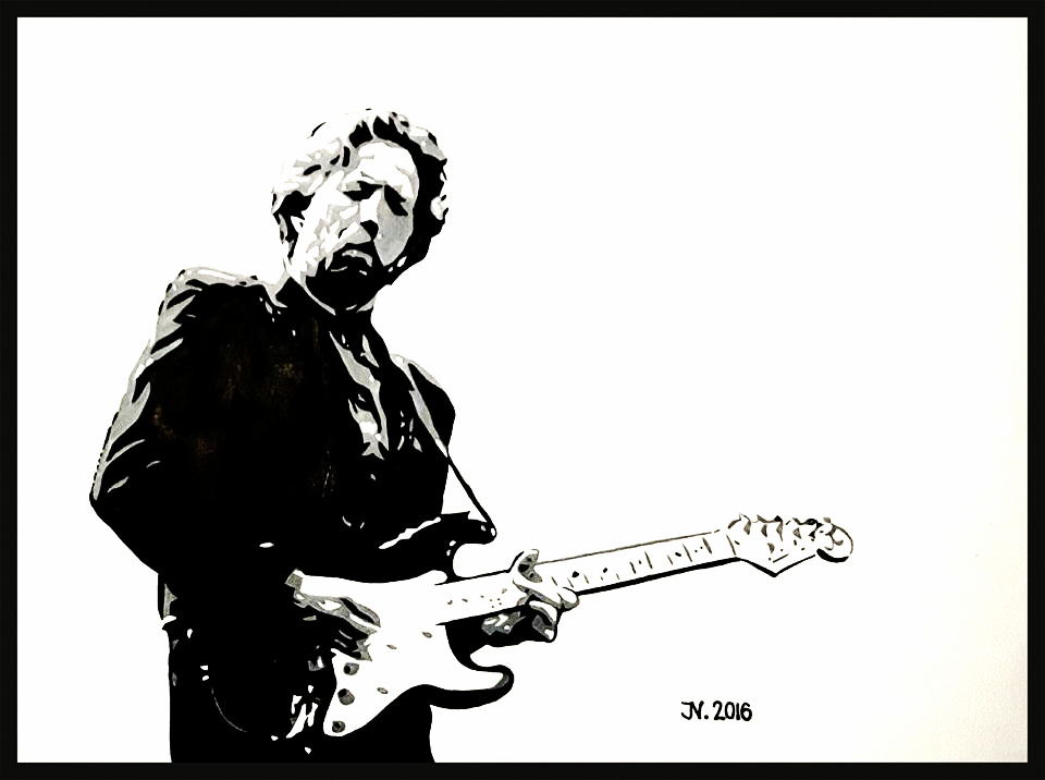 "Eric Patrick ""Slowhand"" Clapton"