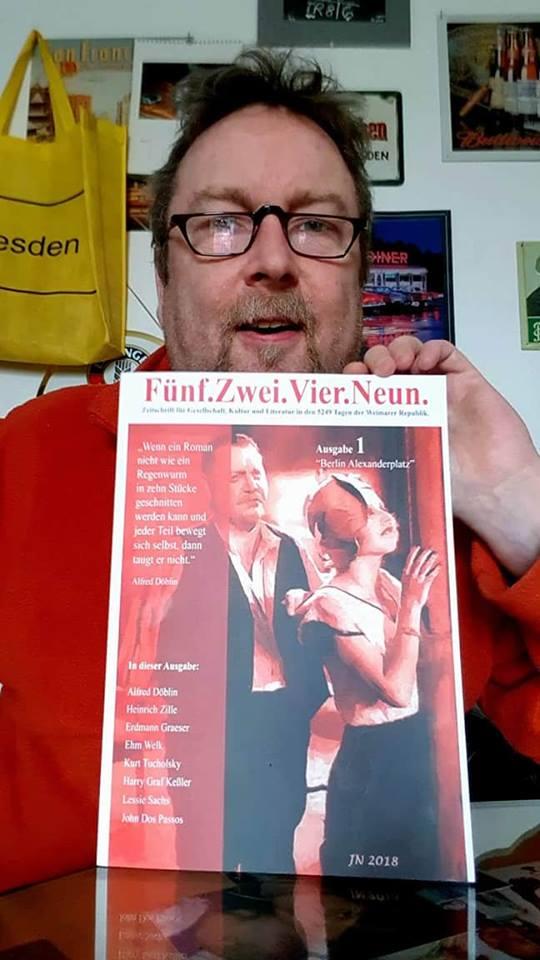 Berlin Alexanderplatz Illustration für die Zeitschrift, Fünf. Zwei. Vier. Neun.