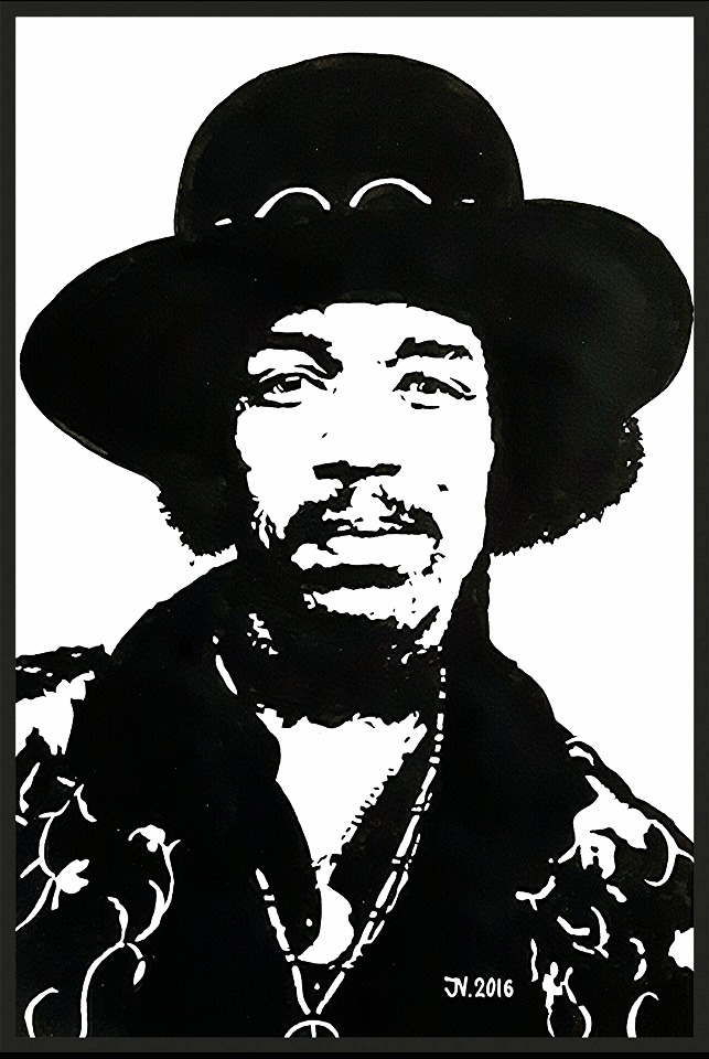 "James Marshall ""Jimi"" Hendrix"
