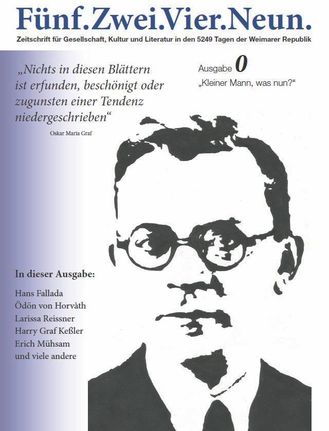 Illustration für eine Zeitschrift, Hans Fallada