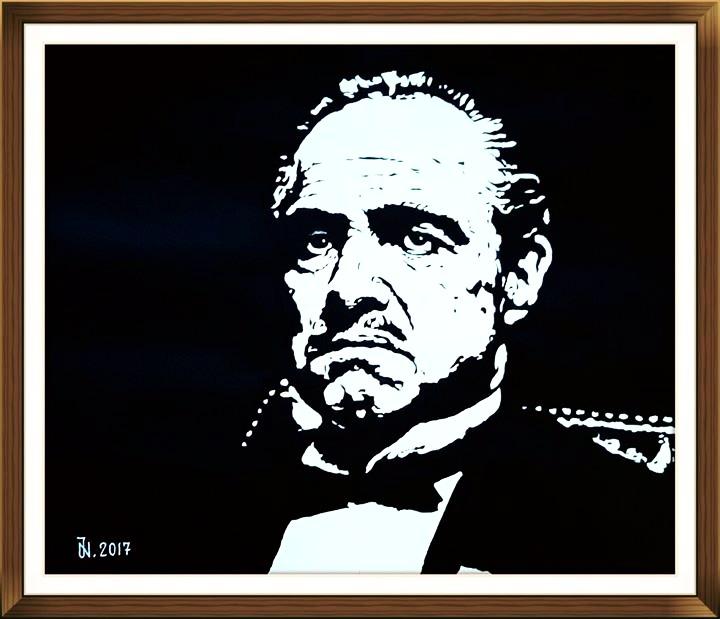 Der Pate Marlon Brando