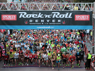 """The Answer is Always """"RUN!"""": Denver Rock and Roll Half"""