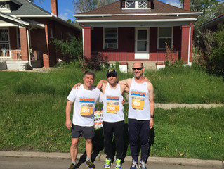 Running Reflections: Blue Skies at the 10th Colfax Marathon
