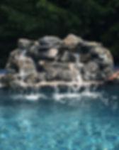 water feature cobble landscape contracto