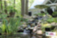 Water Feature Home Cobble Design Lanscap