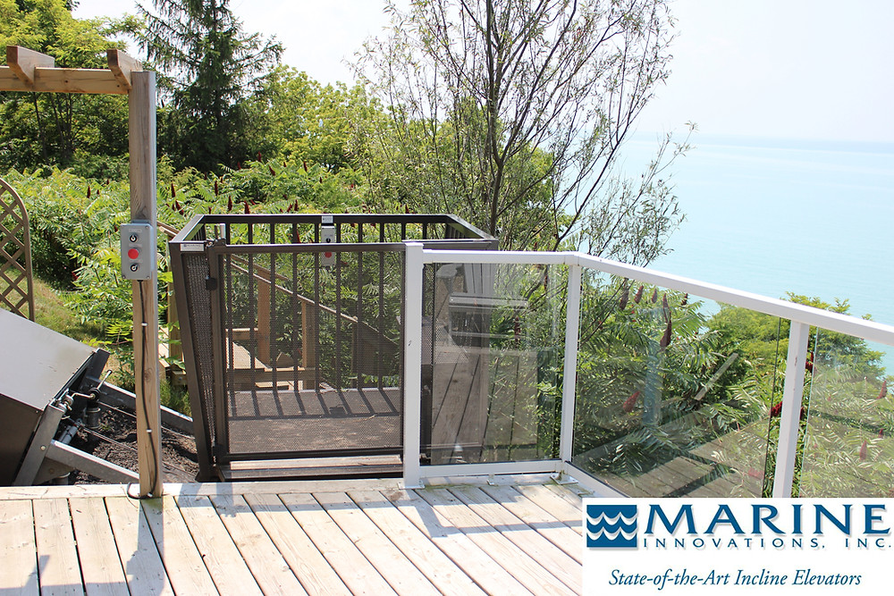 Marine Innovations Hillside Tram Systems Cobble Design Inc. Ontario Canada Landscape Contractor