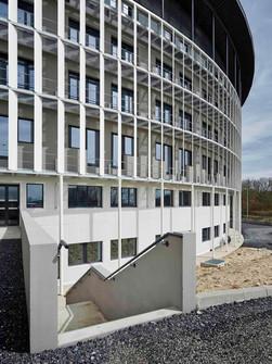 Travaux d'extension de l'hôpital de Creil en Picardie  par l'entreprise de Construction Brézillon