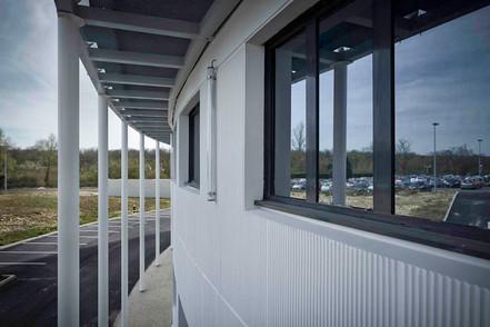Travaux d'extension de l'hôpital de Creil dans les Hauts de France  par l'entreprise de Construction Brézillon