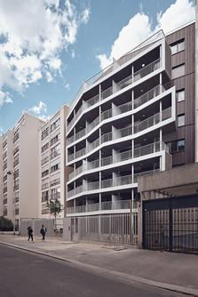 29 logements - Rue Oscar Roty Paris 15