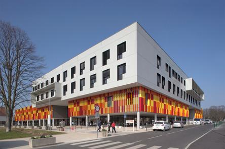 Réalisation d'un Bâtiment au CHI Robert Ballanger à Alnay-sous-Bois, Seine-Saint-Denis